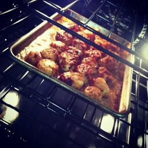 Lemon Chili Sea Scallops in the oven