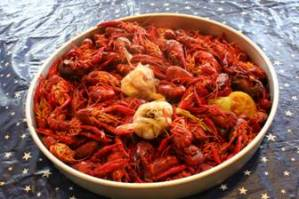 Boiled Crawfish Platter