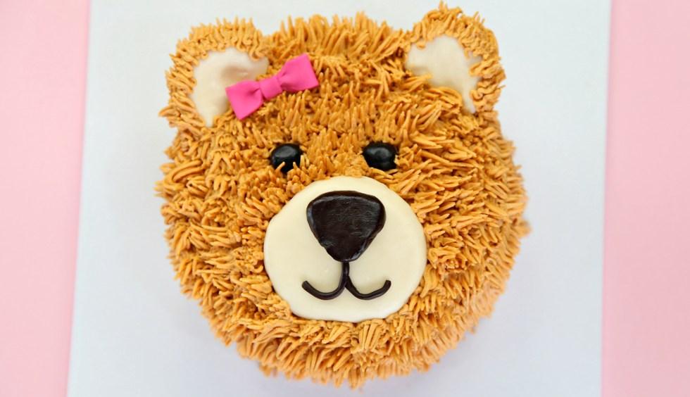 teddy bear cake 1
