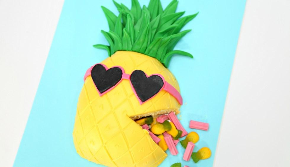 Pineapple 3D Cake