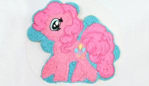 Pinkie Pie MLP Cupcake Cake