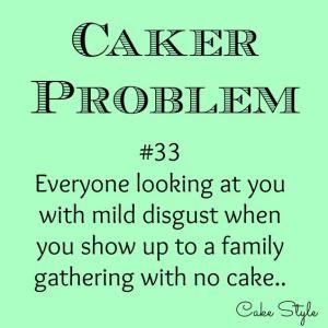 Caker Problem #33 – Where's the cake?!