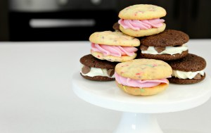 Cake Mix Cookie Sandwiches