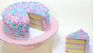 Vanilla Bean and Lavender Cake
