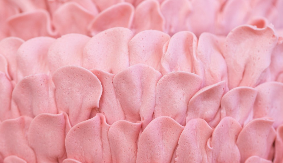 Pink petal cake 1