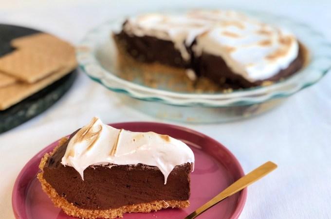 S'mores Pie Slice