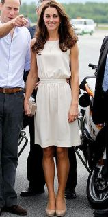 Kate Middleton - Creme Dress