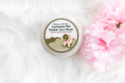 Carbonated bubble clay mask review