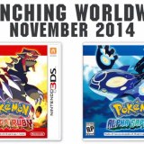 Pokémon: Omega Ruby and Alpha Sapphire coming November 2014!