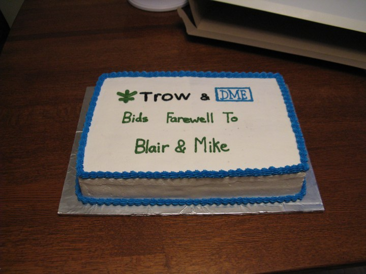 Coworker Going Away Cake Ideas | just b.CAUSE