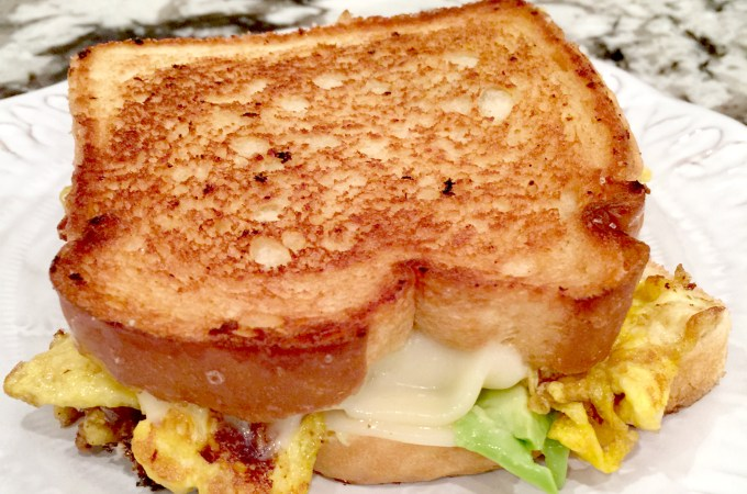 Breakfast Grilled Cheese #SRC