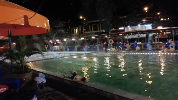 layout kolam 1 dan kolam 2 sari ater