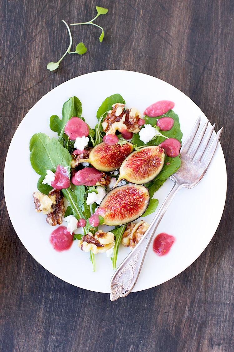 Fig-Arugula-Salad---Vegetarian