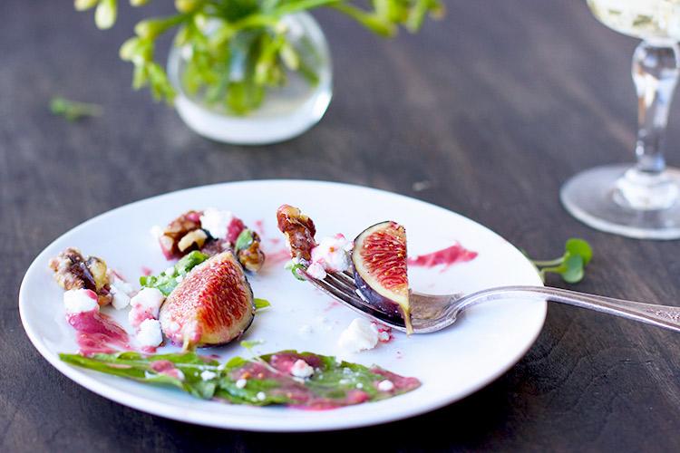 Fig-Arugula-Salad-with-Fig-Vinagrette---Vegetarian