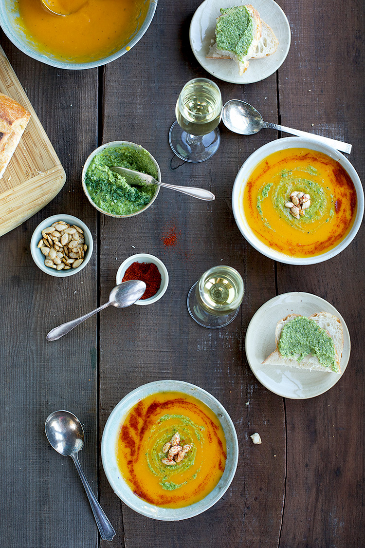 Butternut-Squash-Soup-with-Cilantro-Coconut-Pesto