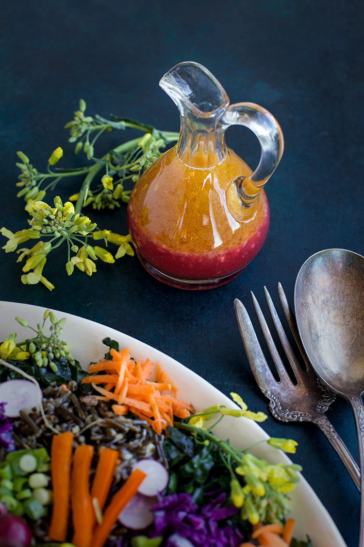 Savory Blood Orange Vinaigrette