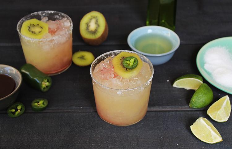 Kiwi-Jalapeno-Margarita