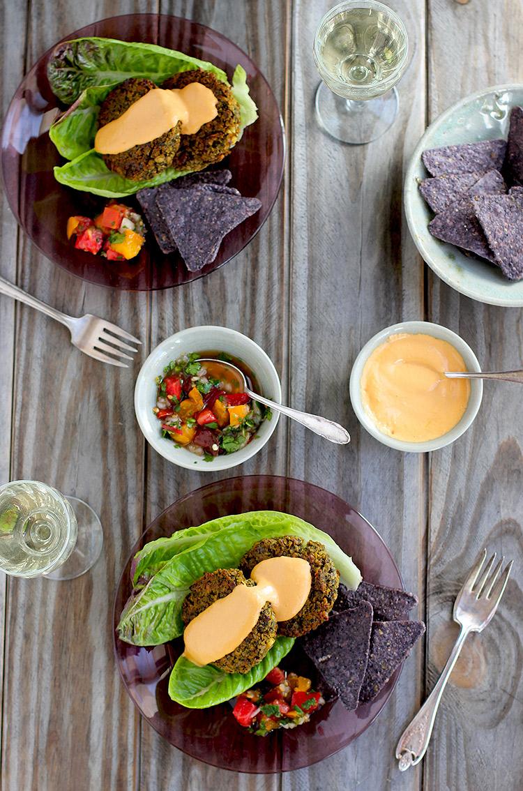 Kale-Falafel