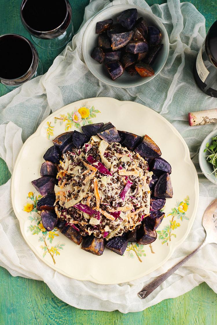 Black-Lentil-Salad
