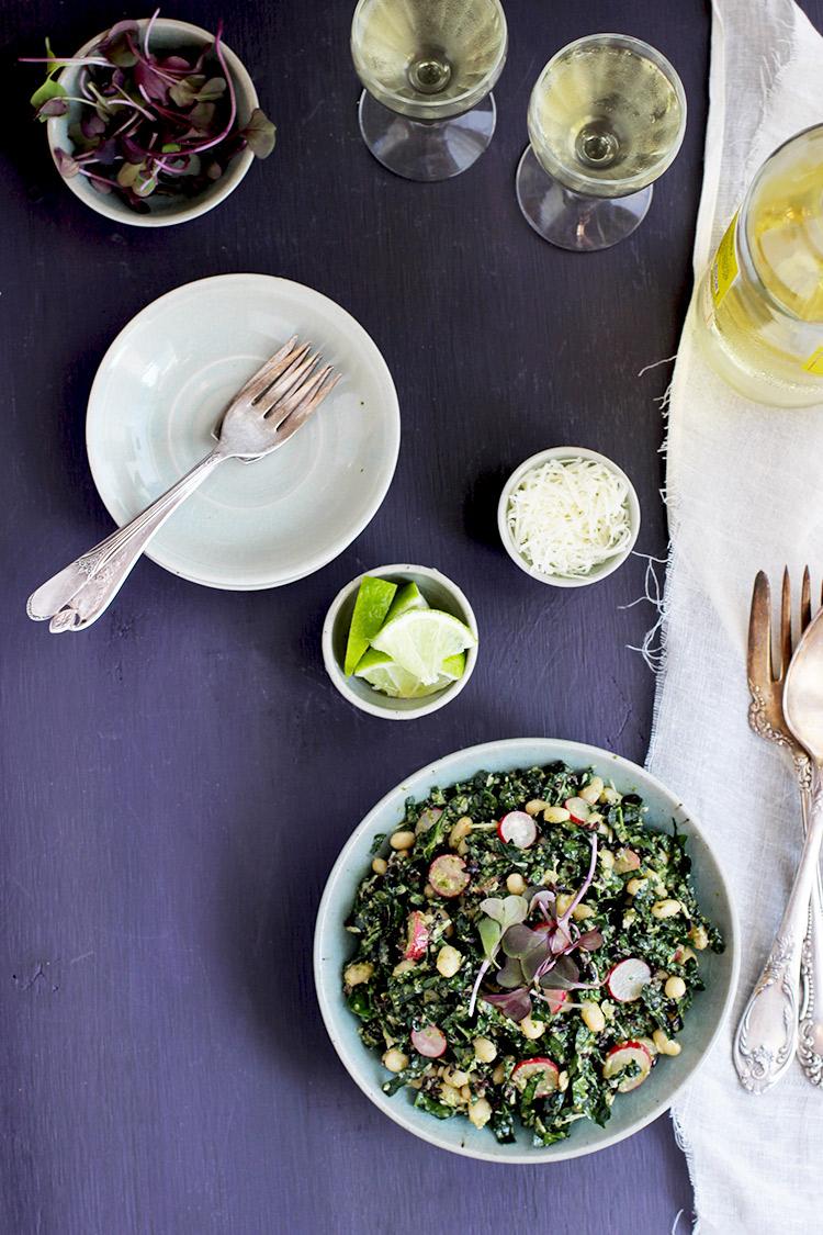 White-Bean-Black-Rice-Kale-Salad