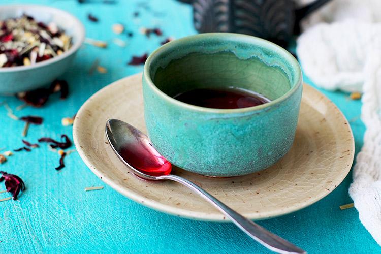 Hibiscus Cardamom Tea