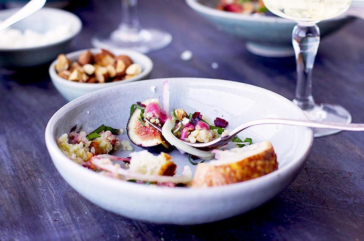 Fig-Hibiscus-Quinoa-Salad-with-Fig-Feta-Vinaigrette