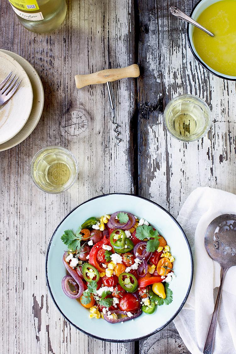 Roasted-Veggie-Salad