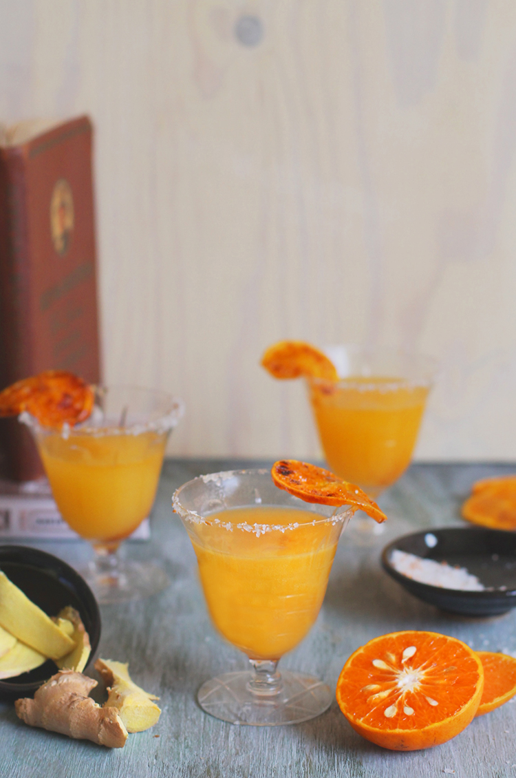Honey Tangerine Chilcano