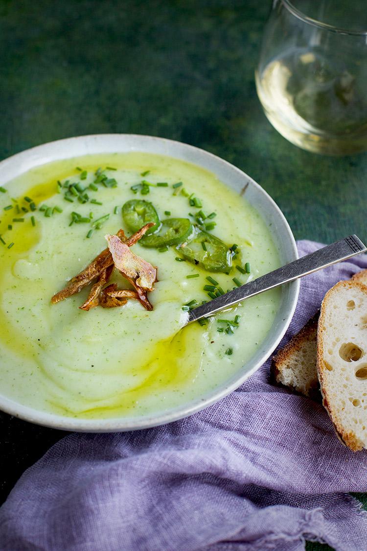 Cream of Potato Chive Soup