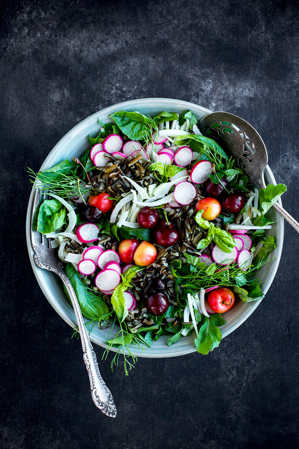 Cherry Wild Rice Salad