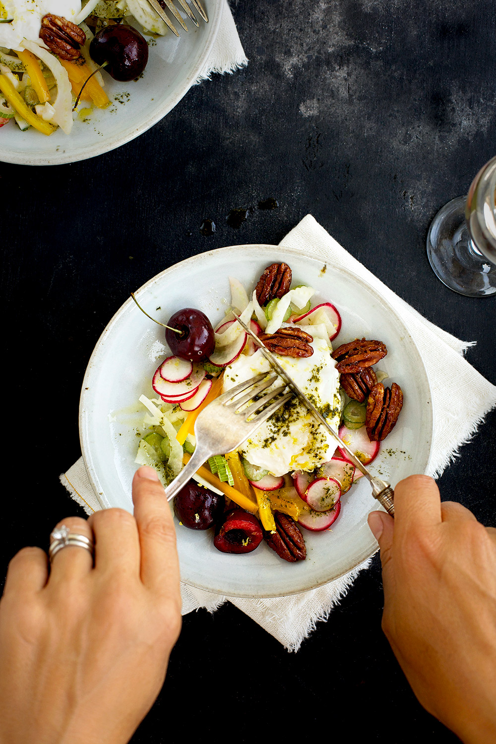 Cherry Burrata Salad