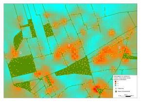 densité avifaune et éoliennes2012