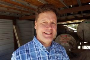 Ken_Erickson, Episcopal priest becomes farmer, Sutter County