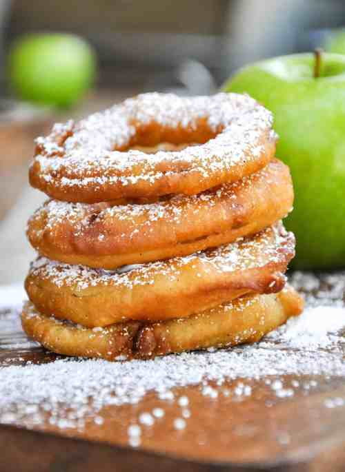 Medium Of Fried Apples Recipe