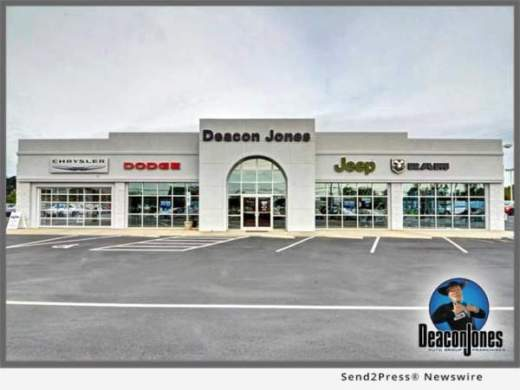Deacon Jones Chrysler operations resume after driver crashes into     Deacon Jones Chrysler operations resume after driver crashes into building  at Smithfield NC dealership   California Newswire