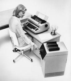 IBM Mag Card Typewriter