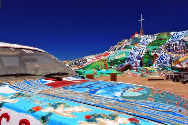 view of salvation mountain 1024x682