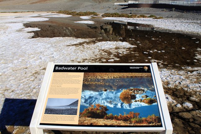 Badwater pool