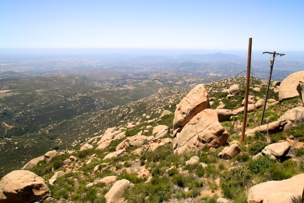 View from the Mt Woodson Summite