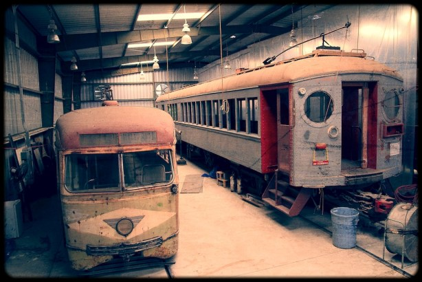 Old Vintage Trains
