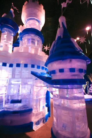 Castle Ice Sculpture 320x480