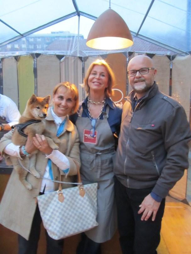 Clelia, Milena e Corrado