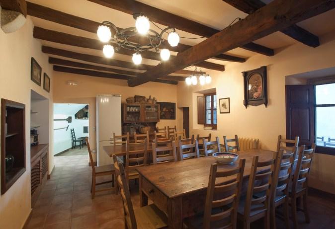Casa Prat - menjador