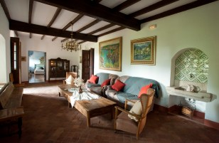 Casa Prat - sala d'estar