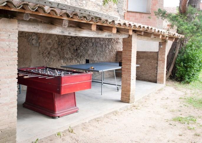 Casa Prat - futbolí i ping-pong