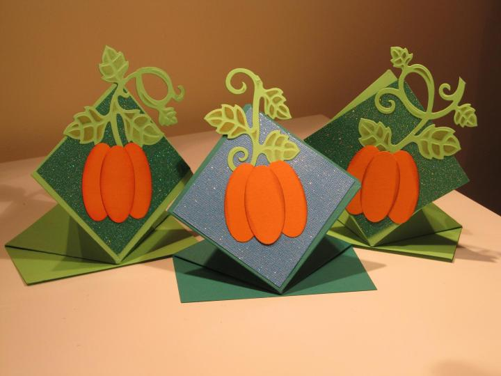 Pop Up Standing Card 003.Thanks Giving Cards