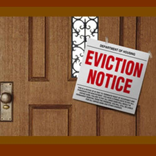 Eviction Assistance & Storage