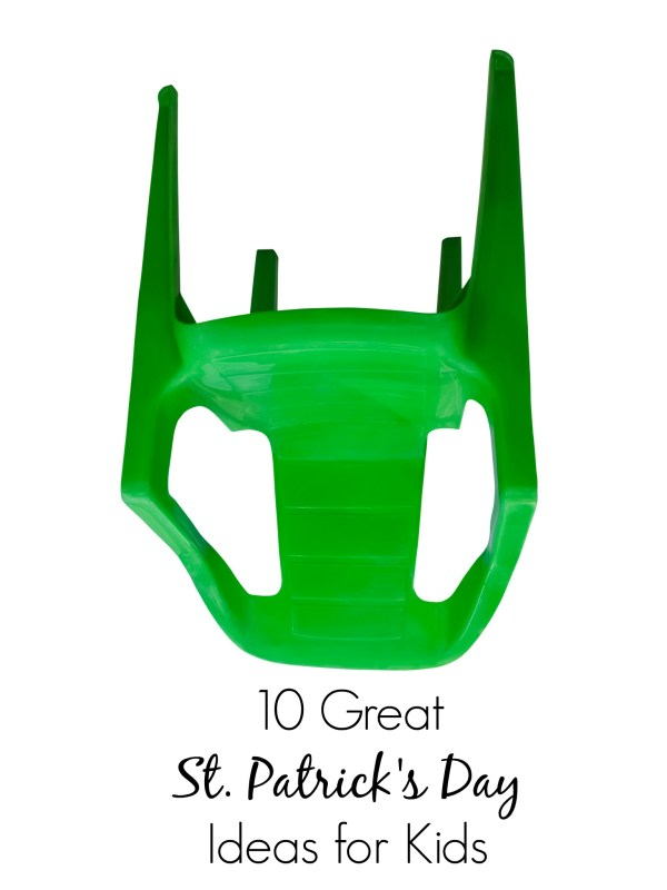 10 Great (and simple) St. Patrick's Day Ideas for Kids - who knew you could dye your tongue that way??? | st patricks day treats | st patricks day food | st patricks day crafts