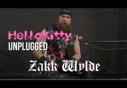Zakk Wylde On A Hello Kitty Guitar Plays Sabbath