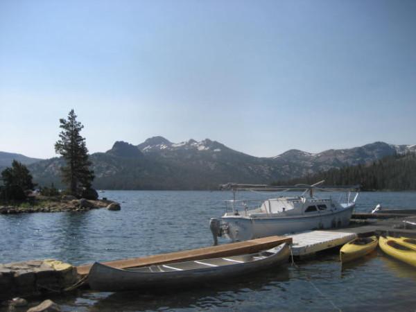 Caples lake yields 6 pound rainbow for Caples lake fishing report